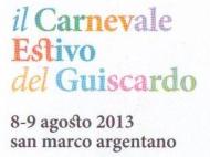 Il Carnevale estivo del Guiscardo
