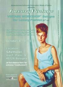 Vintage Worskhop Bologna Oct.2013 front card Sm
